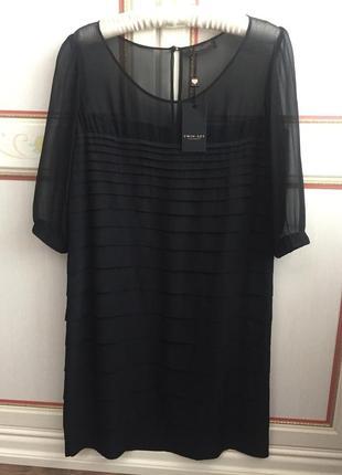 Шелковое платье twin set италия оригинал