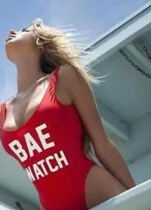 Купальник сдельный  bae watch