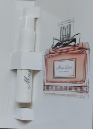 Пробник  dior miss dior eau de parfum2
