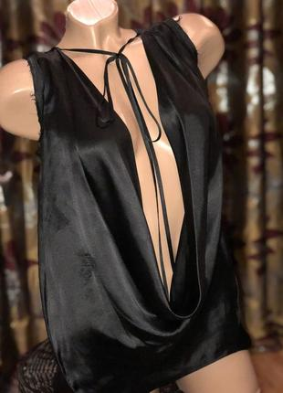 ⭐️ блуза 100% шёлк dsquared2 оригинал •р.м