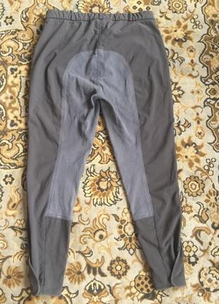 Штаны для верховой езды в2в с полной замшевой леей