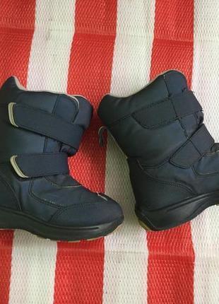 Детские зимние ботинки сапоги circo/ecco на меху  р-р 26-27 16-16,5 см