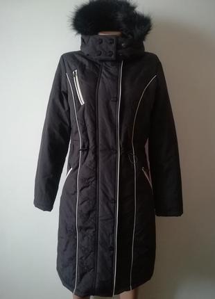 Классное пальто-пуховик