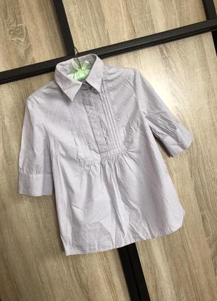 Нежная рубашка с короткими рукавами