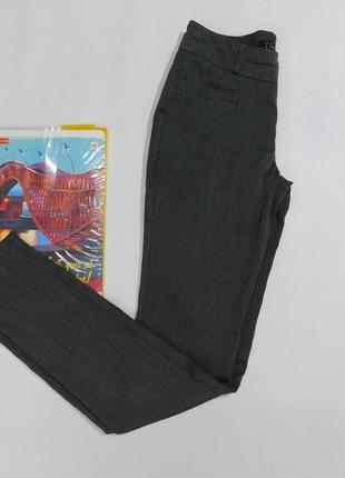 Зауженные классические брюки cache-cache размер 34, на 44 наш