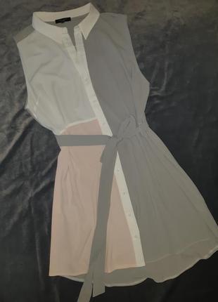 Платье рубашка миди  new look