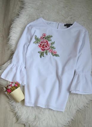 Новая блуза с вышивкой atmosphere