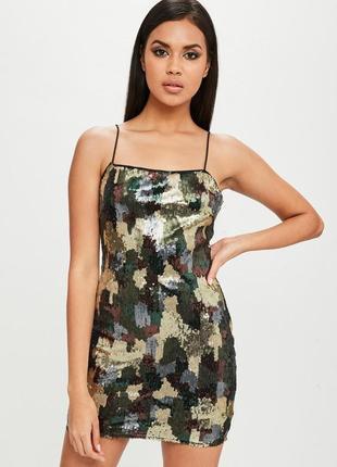 36e7227a5ee Платье с пайетками женские 2019 - купить недорого вещи в интернет ...