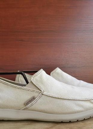 Мокасины crocs santa cruz clean cut loafer oroginal