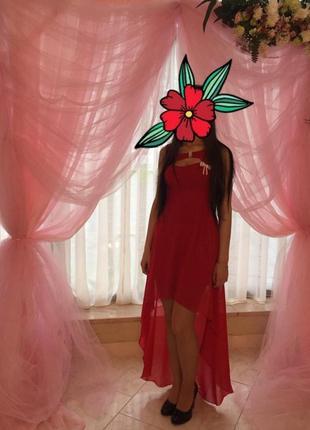 Плаття з шлейфом