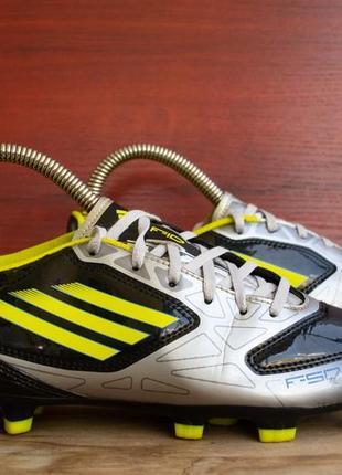 Детские футбольные бутсы adidas f10 fg