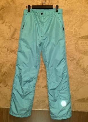 Подростковые  лыжные штаны на девочку фирмы crivit