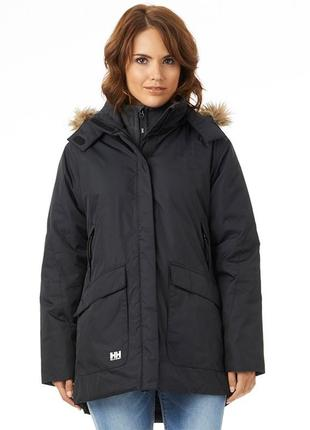Женская куртка парка helly hansen деми \ зима xl размер оригинал