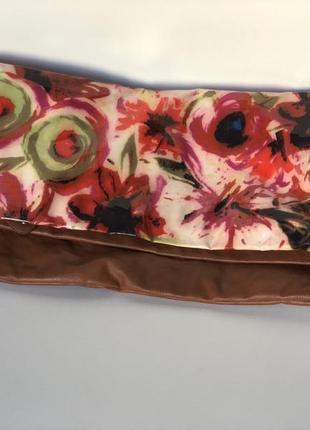 Клатч сумка рыжая розовая зелёная steve madden экокожа