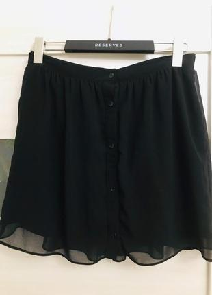 Шифоновая юбка на подкладке river island.