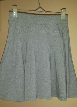 Трикотажная юбка pull&bear