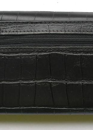 Кожаный кошелек крокодил + картхолдер , 100% натуральная кожа, есть доставка бесплатно5