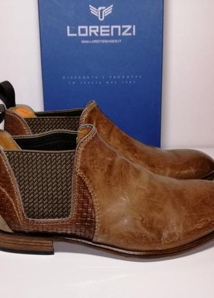 Мужские итальянские ботинки