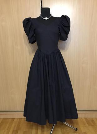 Пішное ретро платье от laura ashley