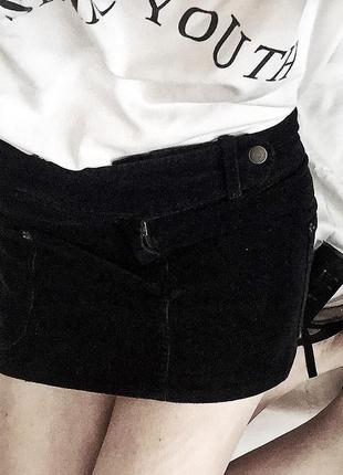 Чёрная юбка terranova