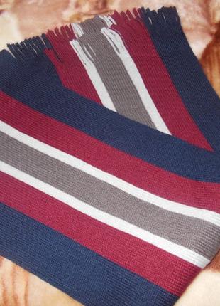 Мужской шарф с шерстью от тсм tchibo (чибо), германия2