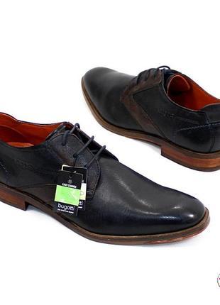 Туфли bugatti 42 р германия кожа