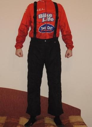 Фирменные мембранные лыжные штаны комбинезон maier р.m/l на рост 168-175 см