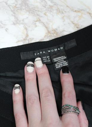 Обнова! нарядная юбка миди черная годе с кружевом качество zara4