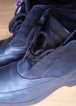 Женские ботинки, полуботинки (кожа)