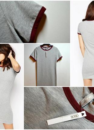 Стильное платье-футболка asos