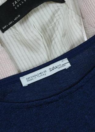 Обнова! джемпер свободного кроя оверсайз с рубашкой с боковыми разрезами zara2 фото