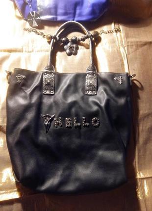 Крутая сумка-шоппер готика очень большая бренд