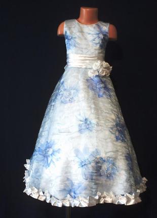 Детское нарядное платье 154д