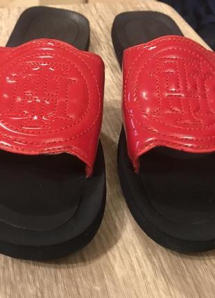 c76b66d8bc65 Шлепки тапочки вьетнамки красные tommy hilfiger Tommy Hilfiger, цена ...