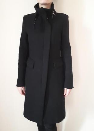 Базовое пальто zara демисезон