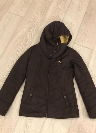 Фирменная куртка puma рхс 34 оригинал зима еврозима демисезонная
