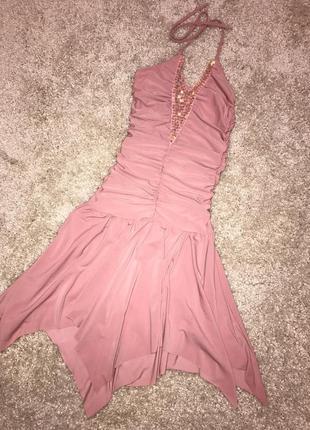 Коктейльное шикарное   платье