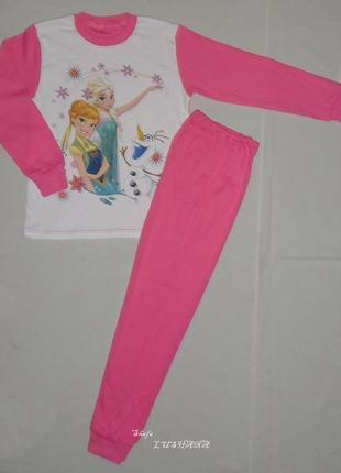 Детская пижама анна и эльза