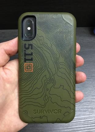 Чехол griffin survivor 5.11 tactical edition strong для iphone x xs