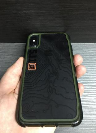 Противоударный чехол griffin survivor 5.11 tactical edition clear для iphone x xs3 фото