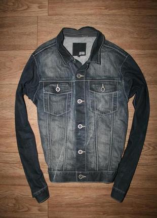 Оригинальная стильная джинсовка jack&jones размер л