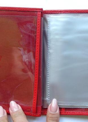 Документница для карт+ для паспорта,100% нат. кожа ската+телячья, есть доставка бесплатнo5 фото