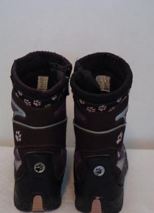 Зимние ботинки фирмы jack wolfskin5 фото