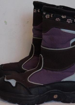 Зимние ботинки фирмы jack wolfskin3 фото