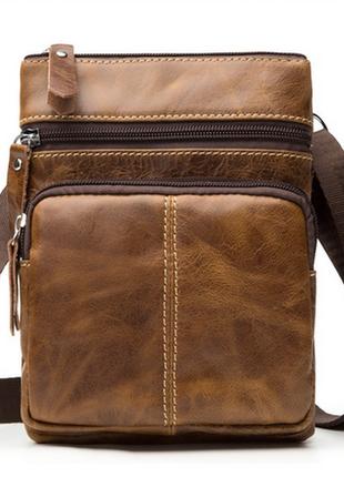 Мужская кожаная сумка для мелочей, хорошая цена1