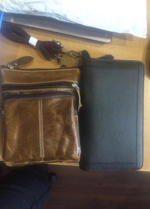 Мужская кожаная сумка для мелочей, хорошая цена2