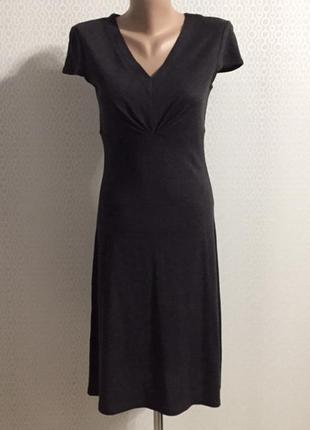 Полушерстяное платье дорогого бренда marc aurel, размер xs (нем 34, укр 40-42)