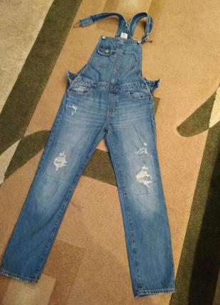 Комбінезон комбинезон джинси джинсы комбез
