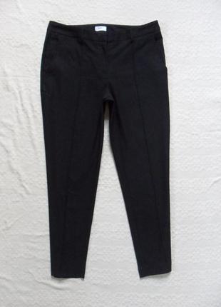 Утягивающие черные штаны скинни со стрелками flg, xl размер.