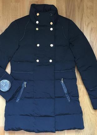Пуховик пуховая куртка пальто женский курточка etam
